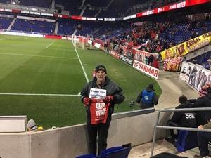 Joseph attended New York Red Bulls vs. Atlanta United FC - MLS - Playoff Game on Nov 29th 2018 via VetTix