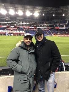 Fabio attended New York Red Bulls vs. Atlanta United FC - MLS - Playoff Game on Nov 29th 2018 via VetTix
