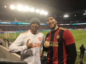 Salvador attended New York Red Bulls vs. Atlanta United FC - MLS - Playoff Game on Nov 29th 2018 via VetTix