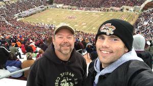 Jason attended Virginia Tech University Hokies vs. Virginia Cavaliers - NCAA Football on Nov 23rd 2018 via VetTix