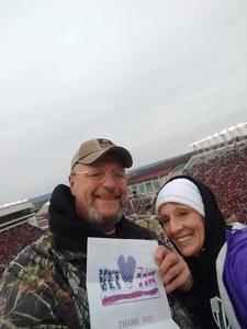 EARNEST attended Virginia Tech University Hokies vs. Virginia Cavaliers - NCAA Football on Nov 23rd 2018 via VetTix