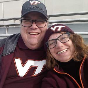 Darrell attended Virginia Tech University Hokies vs. Virginia Cavaliers - NCAA Football on Nov 23rd 2018 via VetTix