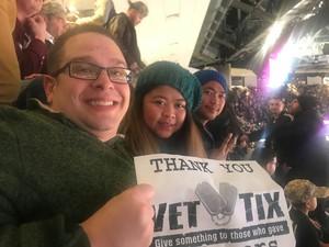 Steven attended Milwaukee Bucks vs. Memphis Grizzlies - NBA - Military Appreciation Night! on Nov 14th 2018 via VetTix