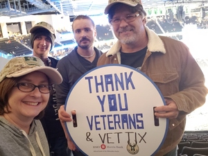 Kim attended Milwaukee Bucks vs. Memphis Grizzlies - NBA - Military Appreciation Night! on Nov 14th 2018 via VetTix