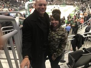 Larry attended Milwaukee Bucks vs. Memphis Grizzlies - NBA - Military Appreciation Night! on Nov 14th 2018 via VetTix