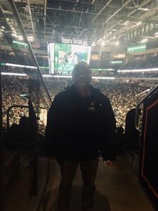 Jeffrey attended Milwaukee Bucks vs. Memphis Grizzlies - NBA - Military Appreciation Night! on Nov 14th 2018 via VetTix