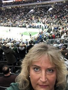janell attended Milwaukee Bucks vs. Memphis Grizzlies - NBA - Military Appreciation Night! on Nov 14th 2018 via VetTix