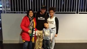Herb attended Milwaukee Bucks vs. Memphis Grizzlies - NBA - Military Appreciation Night! on Nov 14th 2018 via VetTix