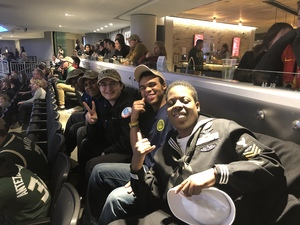 Aisha attended Milwaukee Bucks vs. Memphis Grizzlies - NBA - Military Appreciation Night! on Nov 14th 2018 via VetTix