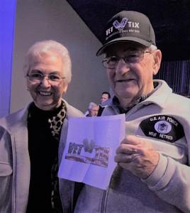 Muriel attended 1964 Beatles Tribute on Nov 16th 2018 via VetTix