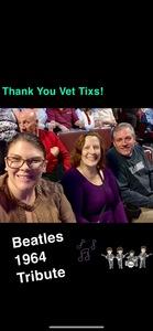 Fred attended 1964 Beatles Tribute on Nov 16th 2018 via VetTix