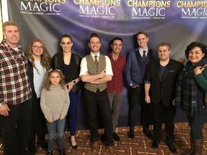 Steven attended Champions of Magic - Saturday Matinee on Dec 1st 2018 via VetTix
