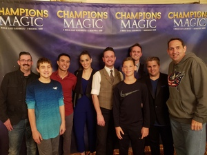MagicFan attended Champions of Magic - Saturday on Dec 1st 2018 via VetTix