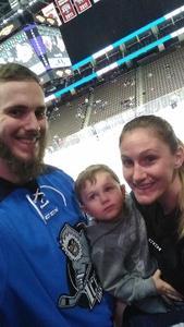 Cody attended Jacksonville Icemen vs. South Carolina Stingrays - ECHL on Dec 19th 2018 via VetTix