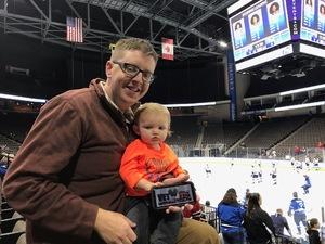 Ryan attended Jacksonville Icemen vs. South Carolina Stingrays - ECHL on Dec 19th 2018 via VetTix