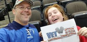 Chris attended Jacksonville Icemen vs. South Carolina Stingrays - ECHL on Dec 19th 2018 via VetTix