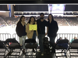 Estevan attended Jacksonville Icemen vs. Orlando Solar Bears - ECHL on Dec 27th 2018 via VetTix
