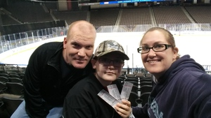 Benjamin attended Jacksonville Icemen vs. Orlando Solar Bears - ECHL on Dec 27th 2018 via VetTix