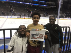 Shelley attended Jacksonville Icemen vs. Orlando Solar Bears - ECHL on Dec 27th 2018 via VetTix