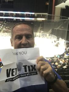 greg attended Jacksonville Icemen vs. Orlando Solar Bears - ECHL on Dec 27th 2018 via VetTix