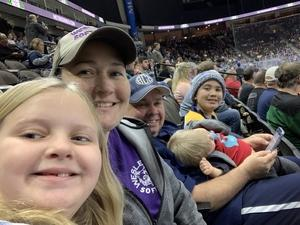 Ashley attended Jacksonville Icemen vs. Orlando Solar Bears - ECHL on Dec 27th 2018 via VetTix