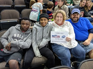 Joseph attended Jacksonville Icemen vs. Orlando Solar Bears - ECHL on Dec 27th 2018 via VetTix