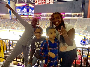 Shatrice attended Jacksonville Icemen vs. Orlando Solar Bears - ECHL on Dec 27th 2018 via VetTix