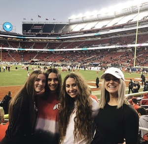 Marissa attended Pac-12 Football Championship Game Presented by 76 - NCAA Football on Nov 30th 2018 via VetTix