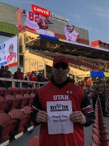 Marisa attended Pac-12 Football Championship Game Presented by 76 - NCAA Football on Nov 30th 2018 via VetTix