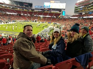 jesse attended Pac-12 Football Championship Game Presented by 76 - NCAA Football on Nov 30th 2018 via VetTix