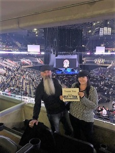 Wade attended Fleetwood MAC - an Evening With Fleetwood MAC - *** Suite Level Seating *** on Nov 28th 2018 via VetTix