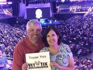 Drew attended Fleetwood MAC - an Evening With Fleetwood MAC - *** Suite Level Seating *** on Nov 28th 2018 via VetTix