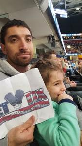Louis attended Cleveland Monsters vs. Syracuse Crunch - AHL on Dec 1st 2018 via VetTix
