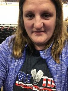 christina attended Cleveland Monsters vs. Syracuse Crunch - AHL on Dec 1st 2018 via VetTix