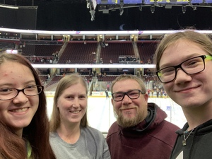 Michelle attended Cleveland Monsters vs. Syracuse Crunch - AHL on Dec 1st 2018 via VetTix