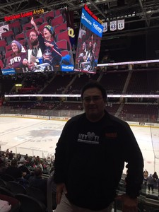 Anthony attended Cleveland Monsters vs. Syracuse Crunch - AHL on Dec 1st 2018 via VetTix