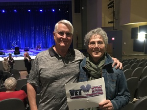 Thomas attended Macdougal Street West - a Peter Paul and Mary Experience on Nov 29th 2018 via VetTix