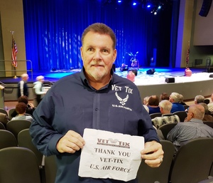 DJ attended Macdougal Street West - a Peter Paul and Mary Experience on Nov 29th 2018 via VetTix