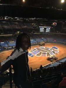 Rochelle attended Monster Jam Triple Threat Series - Motorsports/racing on Jan 5th 2019 via VetTix