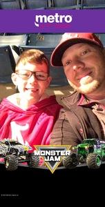Andrew attended Monster Jam Triple Threat Series - Motorsports/racing on Jan 5th 2019 via VetTix