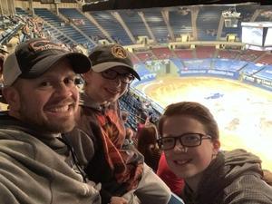 Matthew attended Monster Jam Triple Threat Series - Motorsports/racing on Jan 5th 2019 via VetTix