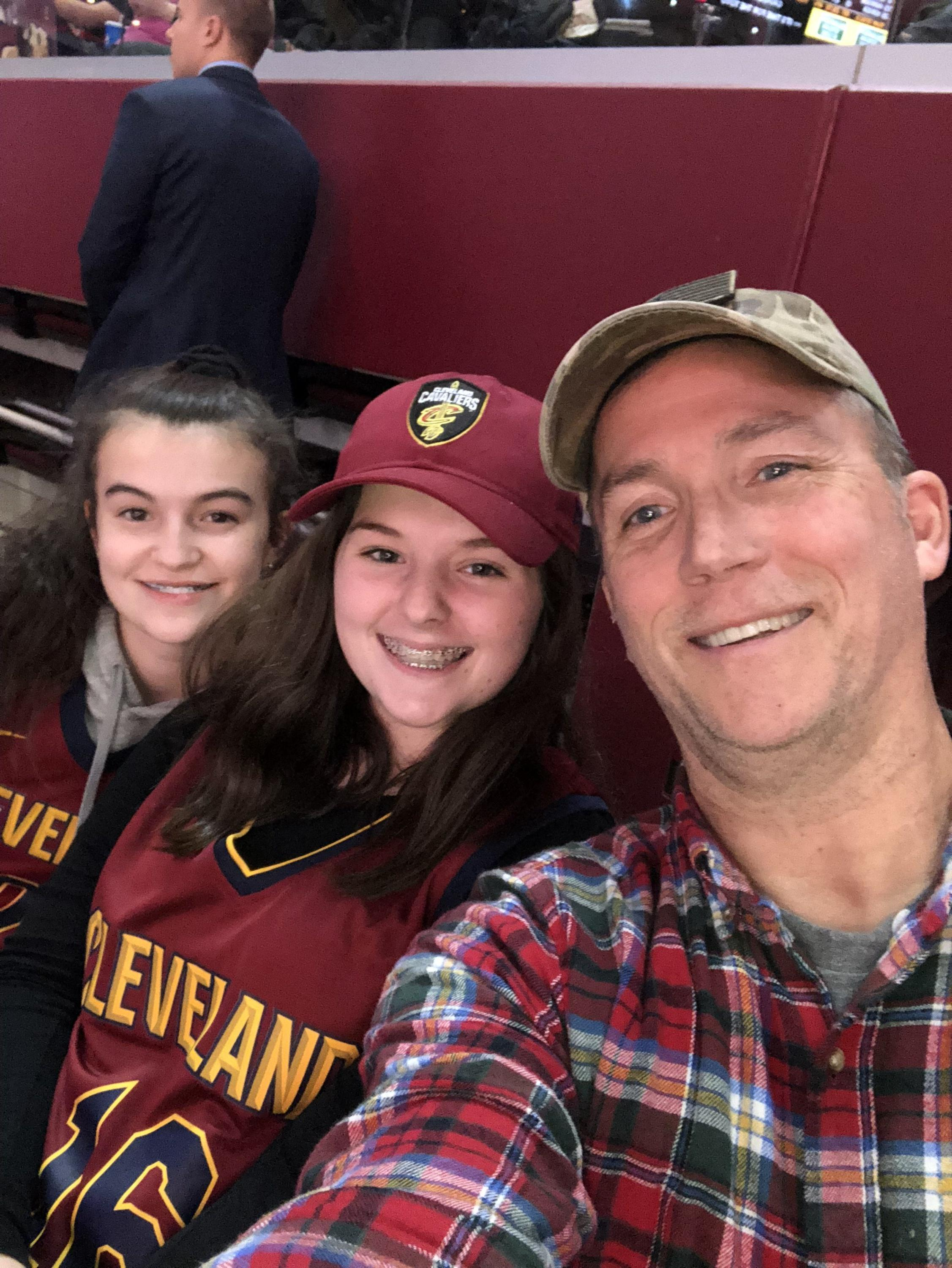 f0431a20d8e Michael attended Cleveland Cavaliers vs. Minnesota Timberwolves - NBA on  Nov 26th 2018 via VetTix