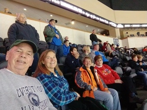 Jerry attended Kansas City Mavericks - Minor League on Dec 7th 2018 via VetTix