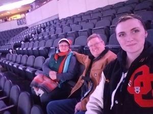 Darren attended Kansas City Mavericks - Minor League on Dec 7th 2018 via VetTix