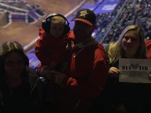 joseph attended Monster Jam - Motorsports/racing on Jan 26th 2019 via VetTix