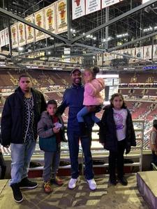 Chris attended Chicago Bulls vs. Phoenix Suns - NBA on Nov 21st 2018 via VetTix