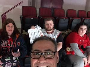 Anthony attended Chicago Bulls vs. Phoenix Suns - NBA on Nov 21st 2018 via VetTix