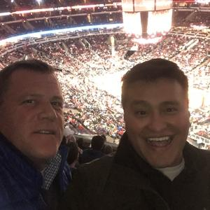 Wayne attended Chicago Bulls vs. Phoenix Suns - NBA on Nov 21st 2018 via VetTix