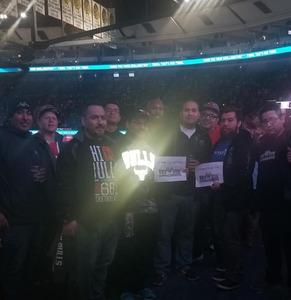 Emmanuel attended Chicago Bulls vs. Phoenix Suns - NBA on Nov 21st 2018 via VetTix