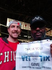 John attended Chicago Bulls vs. Phoenix Suns - NBA on Nov 21st 2018 via VetTix